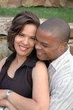Pares casados felices Fotos de archivo libres de regalías