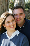 Pares casados jovenes Foto de archivo
