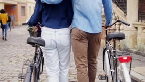 Pares con la bici almacen de video