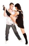 Pares da dança Imagens de Stock Royalty Free