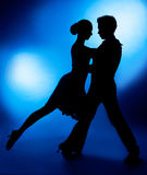 Pares da dança Foto de Stock Royalty Free