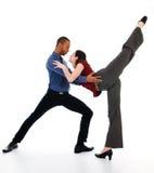 Pares da dança fotos de stock royalty free
