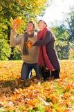 Pares da queda do outono imagens de stock
