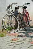 Pares de bicicletas Imagens de Stock