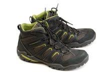 Pares de botas do inverno que trekking Fotografia de Stock
