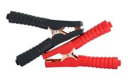 Pares de braçadeiras do jacaré Foto de Stock