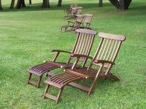 Pares de cadeiras Fotografia de Stock