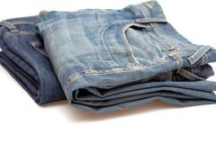 Pares de calças de brim Foto de Stock Royalty Free