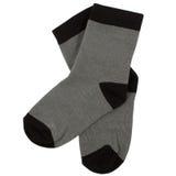 Pares de calcetines Aislado en blanco caminos de recortes incluidos Fotos de archivo