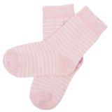 Pares de calcetines Aislado en blanco caminos de recortes incluidos Foto de archivo