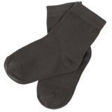 Pares de calcetines Aislado en blanco caminos de recortes incluidos Fotos de archivo libres de regalías