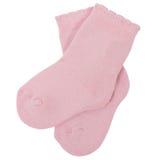 Pares de calcetines Aislado en un fondo blanco Foto de archivo libre de regalías