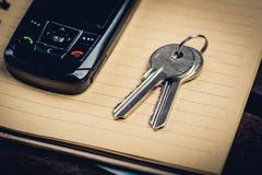 Pares de chaves Imagem de Stock