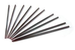 Pares de chopsticks Fotos de Stock Royalty Free