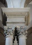 Pares de columnas Imagen de archivo