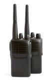 Pares de conjuntos de radio portables Fotografía de archivo libre de regalías