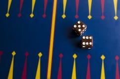 Pares de dados del casino Fotos de archivo