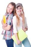 Pares de estudantes novos Foto de Stock