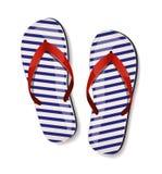 Pares de flip-flops. Ilustração do vetor. ilustração do vetor