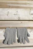 Pares de guantes Fotografía de archivo