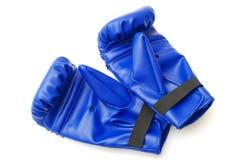 Pares de guantes de boxeo Imagen de archivo libre de regalías