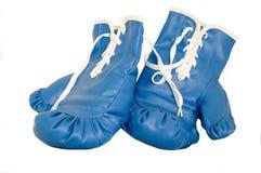Pares de guantes de boxeo Imágenes de archivo libres de regalías