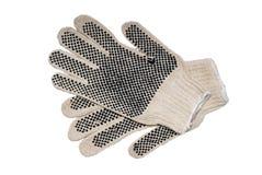 Pares de guantes de la seguridad fotografía de archivo libre de regalías