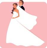Pares de la boda libre illustration