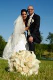 Pares de la boda Foto de archivo