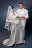 Pares de la boda Fotos de archivo