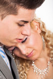 Pares de la boda en amor Foto de archivo