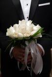 Pares de la boda La novia y el novio Imagen de archivo libre de regalías