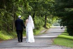 Pares de la boda - serie Imagenes de archivo