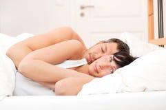 Pares de la cama Imagenes de archivo