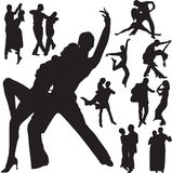 Pares de la danza Fotos de archivo