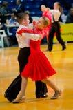 Pares de la danza Fotografía de archivo libre de regalías
