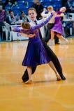 Pares de la danza Foto de archivo libre de regalías
