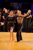 Pares de la danza Foto de archivo