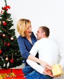 Pares de la Navidad Foto de archivo
