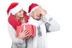 Pares de la Navidad Imagenes de archivo