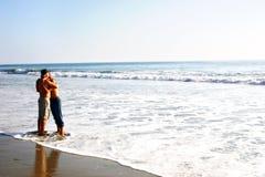 Pares de la playa foto de archivo libre de regalías
