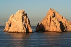 Pares de la roca del Land's End Imagen de archivo libre de regalías
