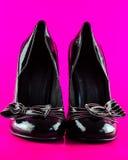 Pares de lady' zapatos del tacón alto de s Imagen de archivo
