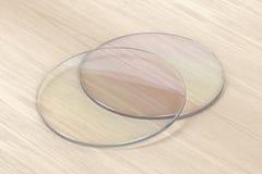 Pares de lente dos monóculos ilustração do vetor