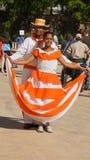 Pares de los ejecutantes de la calle, La Romana, República Dominicana Imagen de archivo libre de regalías