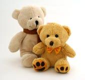 Pares de los osos del peluche Foto de archivo libre de regalías