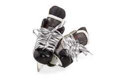Pares de los patines aislados Fotos de archivo