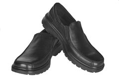 Pares de los zapatos de los hombres Foto de archivo