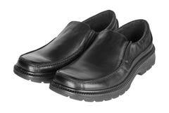 Pares de los zapatos de los hombres Fotografía de archivo