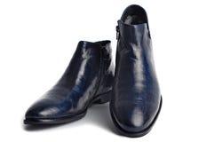 Pares de los zapatos de los hombres de cuero Foto de archivo libre de regalías